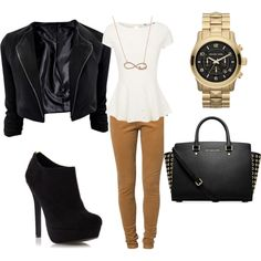 business casual, love this look