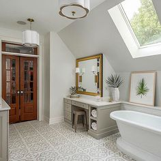 How To Add Elegance To Your Next Bathroom Upgrade — Home & Garden Master Bathroom Vanity, Next Bathroom, Bathroom Faucets, Bathroom Ideas, Bathroom Rugs, Bathroom Flooring, Bathroom Designs, Farmhouse Style Bedrooms, Farmhouse Style Kitchen