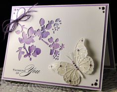 For Mary March 2017 Tim Holtz Mixed Media die cut over paper I water colored. Memory Box butterfly with Martha Stewart chunky glitter. Created by Peggy Dollar