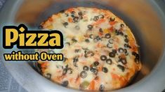 Pizza without Oven Recipe in Urdu 🍕🍕   How to make perfect Pizza without... How To Make Pizza, Food To Make, Perfect Pizza, Pizza Bake, Oven Recipes, Indian Dishes, Delish, Easy Meals, Make It Yourself