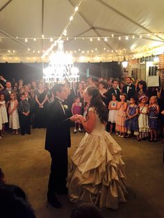 First dance - Patrick Day and Maxine Whitney wedding!