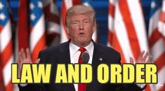 New trending GIF on Giphy. donald trump rnc republican national convention rnc 2016 law and order. Follow Me CooliPhone6Case on Twitter Facebook Google Instagram LinkedIn Blogger Tumblr Youtube