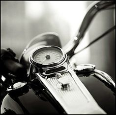 The man I marry must drive a motorcycle, or I have a bad feeling things will come to a end.