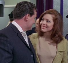 """Diana Rigg as Emma Peel in """"The Avengers"""" (1961-1969)"""