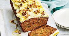 Zucchini and carrot cake Banana and walnut cake with sticky caramel recipe Zucchini Carrot Cakes, Celebration Chocolate, Walnut Cake, Caramel Recipes, Cream Cheese Icing, Cake Recipes, Carrot Recipes, Icing Recipes, Tea Recipes