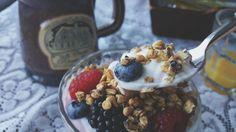 Yogurt Berries & Granola