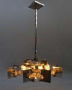 Gaetano Sciolari, Gaetano Sciolari Hanging Light for Sciolari