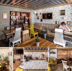 Cafeteria con estilo Shabby Chic