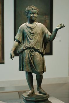 Roman bronze in the Met, NY  http://www.romancoins.info/Sculptures5.html