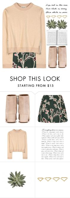 """Untitled #1190"" by chantellehofland ❤ liked on Polyvore featuring Aquazzura, Marni, Acne Studios and Ana Khouri"