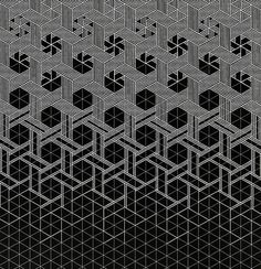 Escher like pattern