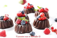 Il Pomodoro Rosso di MAntGra: Tortini al cioccolato fruttato