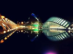City of Arts and Sciences of Valencia, Spain.