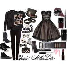 """""""Panic! At the Disco"""" by amr3always on Polyvore"""