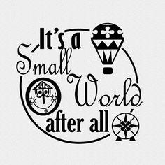 Disney Diy, Disney Trips, Disney Decals, Disney Stencils, Disney Silhouettes, World Quotes, The Originals Characters, Disney Quotes, Disney Fonts