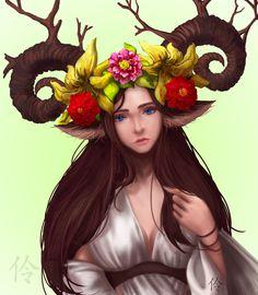 FAUNA Ryung-A Kim on ArtStation at https://www.artstation.com/artwork/BQ8ak