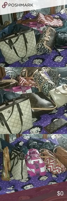 BUNDLE AND SAVE I have cute purses /Shoes Jackets and other stuff. .. ALL KINDS  Bags Crossbody Bags
