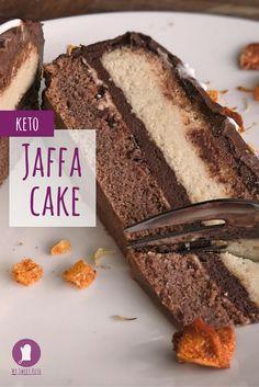 This cake is THE Keto Jaffa Cake. 'Nuff said. Enjoy the recipe.