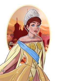 Anastasia Movie, Princesas Disney, Princess Zelda, Movies, Fictional Characters, Art, Art Background, Films, Kunst