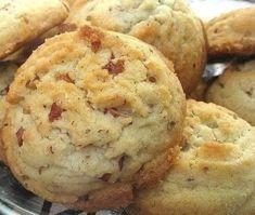recipes Brownie Cookies, Cookie Desserts, Just Desserts, Cookie Recipes, Dessert Recipes, Pecan Desserts, Pecan Recipes, Annie's Cookies, Snow Cookies