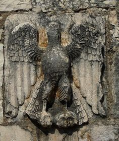 Mesopotami- Ancient Stonecarving of an Eagle by Peter Ashton aka peamasher