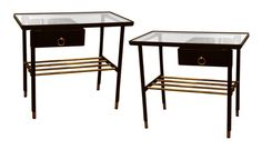 Jacques Adnet Night Stands