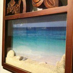 Beach Memories  Bring sand and shell back from your trip and a picture to remember!
