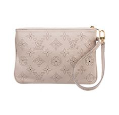 Louis Vuitton Sable Mahina Pouch Wristlet