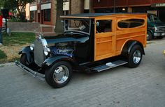 30 Ford Woodie...Re-pin Brought to you by agents at #HouseofInsurance in #EugeneOregon for #LowCostInsurance.