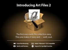 File collection for Adobe Illustrator documents.