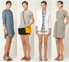 Steven Alan Spring 2012 - especially the dress on the right.
