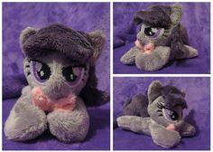 Octavia Melody Tiny Micro Mini My Little Pony by buttsnstuff