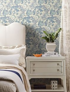 Shop Coastal Nautical Wallpapers for every Room in the Home