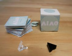Memo the A by threelivesleft on Etsy, €30.00