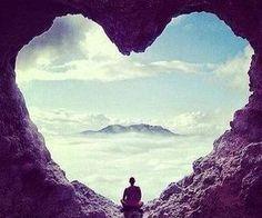 paysage#rocher#coeur#nuage#tranquilité