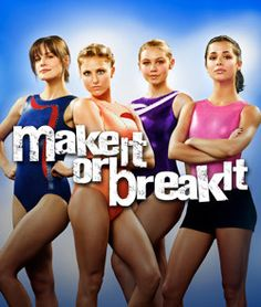 Currently watching Make It or Break It. SO good.
