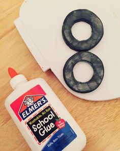 New technique with elmer's glue: brushing it onto foam to smooth out sanded edges #cosplaytutorial #cosplaytechniques