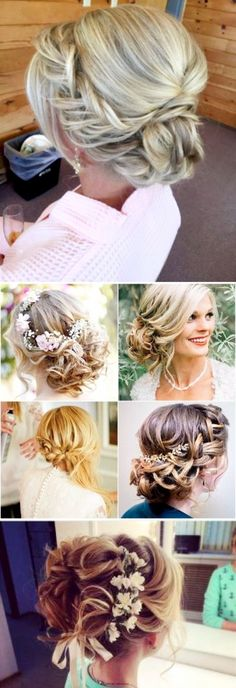 Wedding hairstyle ideas - bridal updo hair ideas perfect for the bridal party