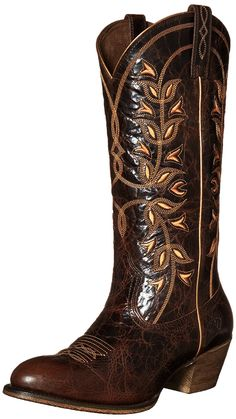 Ariat Women's Desert Holly Western Cowboy Boot *** Details can be found by clicking on the image.