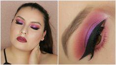 Juvia's Place The Masquerade Palette - Swatches + Tutorial De Ojos ! | s...
