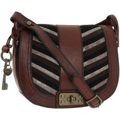 Fossil Vintage Re-Issue Flap Crossbody With Lock. So sad this is out of stock! Super cute bag