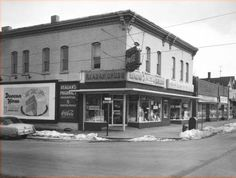 Reagan's Pharmacy, Michigan & Lafayette - February 21, 1956