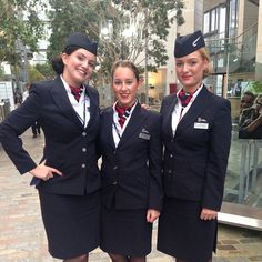 British Airways Stewardesses