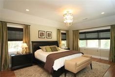 transistional bedroom | Classic Transitional Bedroom by Olga Adler