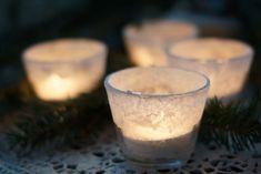 Kasvata suolalla kaunis huurteinen tuikku. Vielä ehtii tehdä joulupöydän kauneimmat koristeet itse.