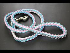 How to Make a Paracord Bungee,Elastic Dog Leash - Multifunctional handle-dog collar Paracord Dog Leash, Rope Dog Leash, Paracord Braids, Paracord Bracelets, Knot Bracelets, Survival Bracelets, Lanyard Knot, Diy Dog Collar, Collar And Leash