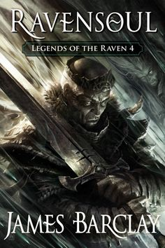 Ravensoul (Legends of the Raven) by James Barclay - Cover art by Raymond Swanland Alan Lee, Anne Frank, British Library, Agatha Christie, Raymond Swanland, Amin Maalouf, Spirits Of The Dead, Book Summaries, Fantasy Books