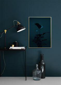 Black Plant, Poster in de groep Posters / Botanisch bij Desenio AB (8619)