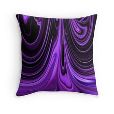 Purple Ribbon Flow Art by Adri of Minding My Visions  www.mindingmyvisions.com https://www.facebook.com/mindingmyvisions abstract art for sale on throw pillows tote bags, cellphone cases and more!