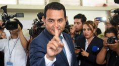 Guatemalan actor Jimmy Morales is leading in the country's presidential poll, early results have showed. Jimmy Morales, who has campaigned against corruption,
